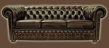 El sofá Chester, siempre fashion
