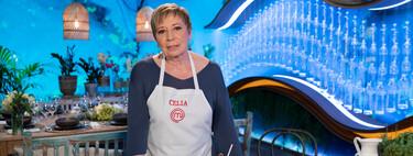 Celia Villalobos, décima expulsada de 'MasterChef Celebrity 5': estos son los 6 semifinalistas
