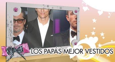 ¿Quiénes son los papás celebrities mejor vestidos?