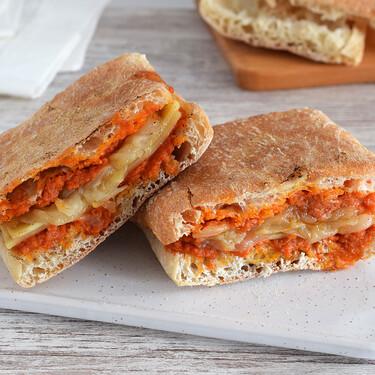 Almussafes: receta del mítico bocadillo valenciano de sobrasada, queso y cebolla caramelizada