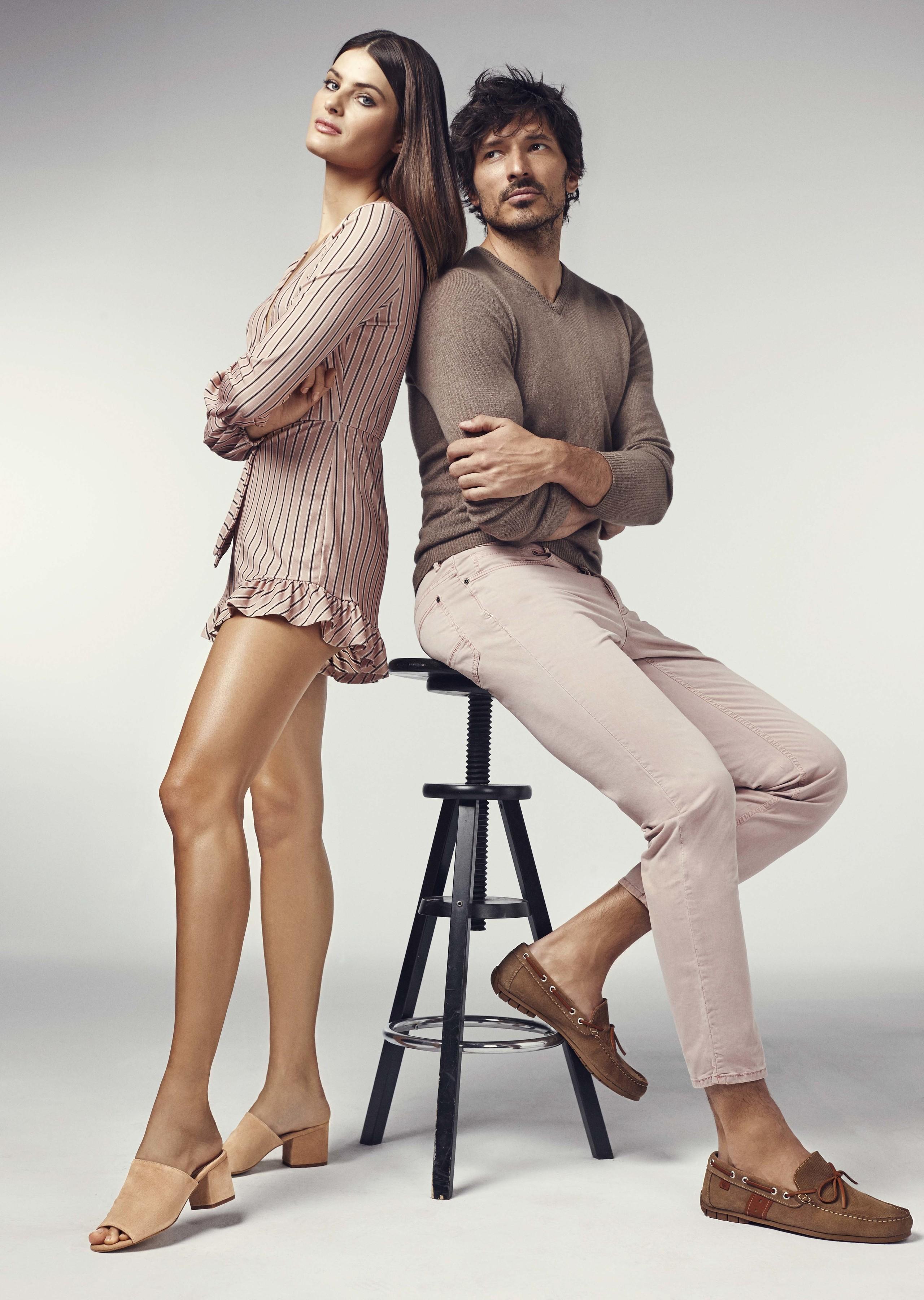Andrés Velencoso e Isabeli Fontana imagen de Carmela