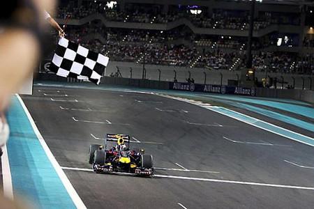 Sebastian Vettel gana la primera carrera de la Fórmula 1 en Abu Dhabi y se proclama subcampeón