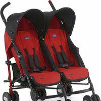 Gran oferta de Amazon en la silla de paseo gemelar Chicco Echo Twin en color rojo: está rebajada a 125 euros con envío gratis
