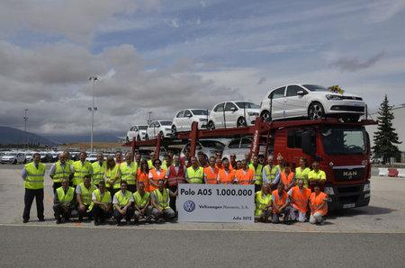 Volkswagen Polo un millón en la factoría de Navarra