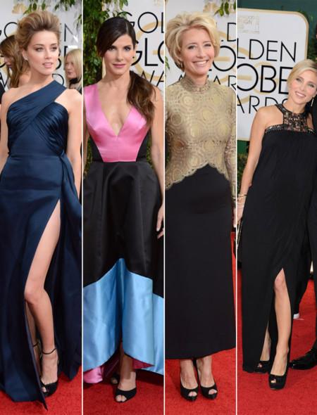 Amber Heard Globos de Oro 2014