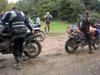 Cómo arrancar una KTM Adventure en caso de emergencia