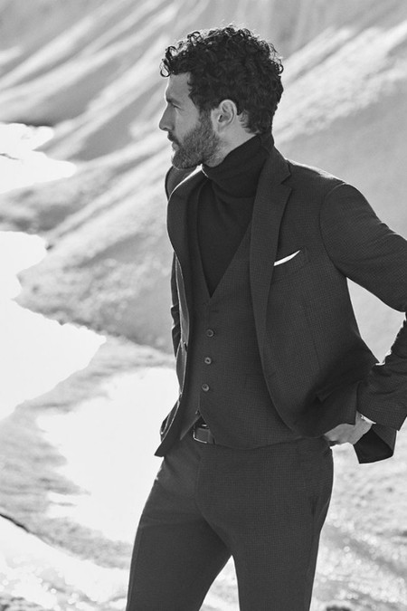 Noah Mills Massimo Dutti Fall Winter 2016 Eveningwear Lookbook 007