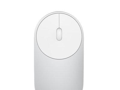Ratón Xiaomi Mi Portable Mouse, con conectividad Bluetooth, por sólo 9,38 euros