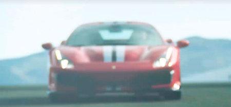 Habemus cavallino: el Ferrari 488 Speciale se deja entrever en este teaser entre humo y adelantamientos