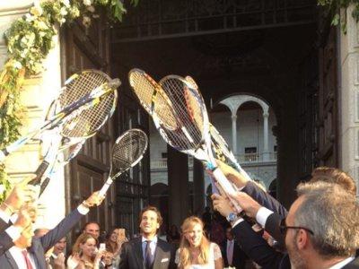 Los looks de Alba Carrillo en el día de su boda