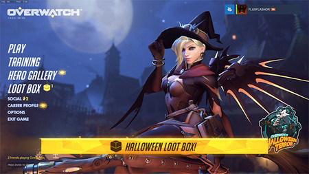 Capturas de los Skins del evento de Halloween de Overwatch