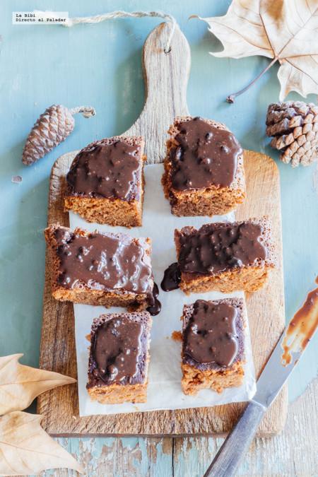 Brownies de chocolate y Baileys. Receta