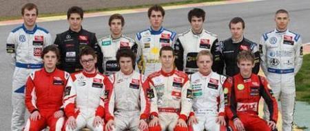 F3 Euroseries Parilla de pilotos