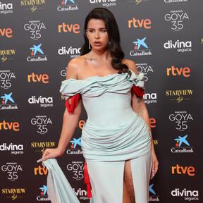 Los peores vestidos de la alfombra roja de los Premios Goya 2021