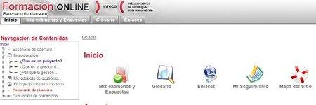 Formación online de Inteco