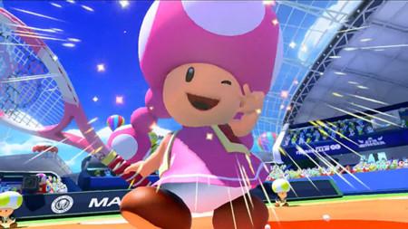 Toadette se une también a Mario Tennis: Ultra Smash como personaje seleccionable