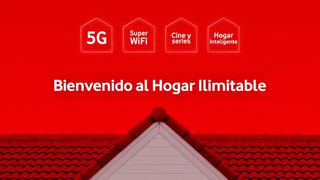 Vodafone One Hogar Ilimitable: nueva oferta convergente con móvil + fibra + televisión + IoT desde 95 euros al mes