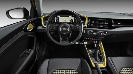 Audi A1 2019 interior