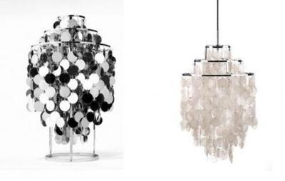 Lámparas de diseño de Verner Panton