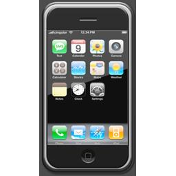 El icono del iPhone