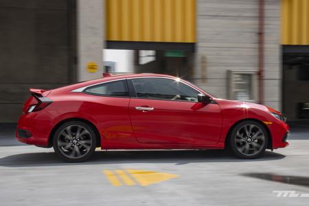 Honda Civic Coupe prueba de manejo opiniones mexico 17