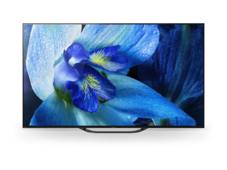 Tv Oled 65 Sony Kd 65ag8 Ultra Hd 4k Hdr Android 8 0 Oreo X1 Ultimate Acoustic Surface Audio