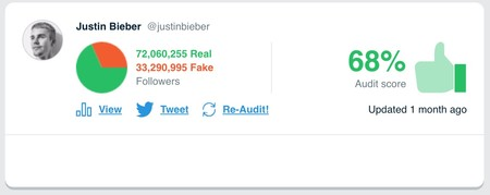 Window Y Justinbieber S Audit Twitter Audit Audit Your Twitter Followers