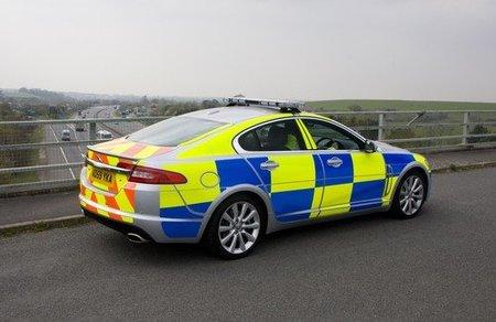 Jaguar XF policia britanica