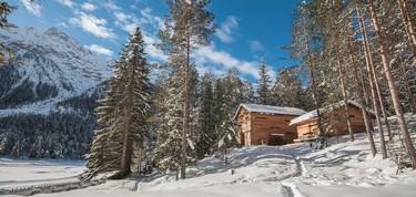 Mountain Lodge Tamersc, una cabaña de caza en ruinas y rehabilitada en el norte del Tirol