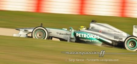 Nico Rosberg se encarga de seguir haciendo brillar a Mercedes