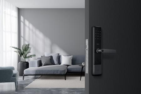 Aqara ya tiene su nueva cerradura conectada: la Smart Lock Aqara N200 permite hasta seis formas para el control de acceso a casa
