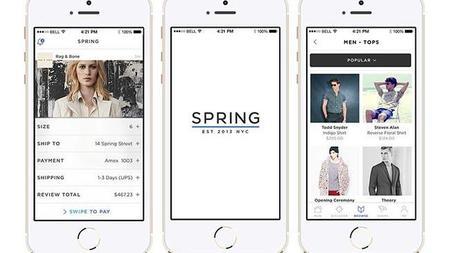 Spring será nuestra mejor aplicación para comprar