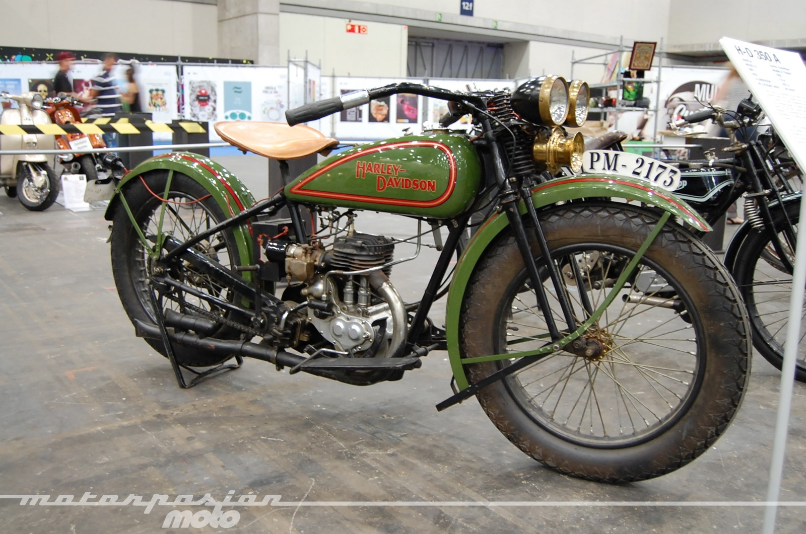 Foto de Mulafest 2014, exposición de motos clásicas (33/35)