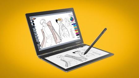Lenovo Yoga Book C930: vuelve el portátil de doble pantalla, ahora con tinta electrónica