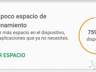 Cómo liberar espacio en tu Android con la nueva función de la Play Store
