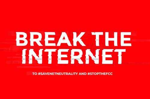 """""""Break the Internet"""", la protesta que te muestra cómo sería la red sin neutralidad"""