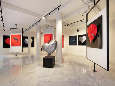 Uno de 50 ha convertido su nueva tienda en una lujosa galería de arte