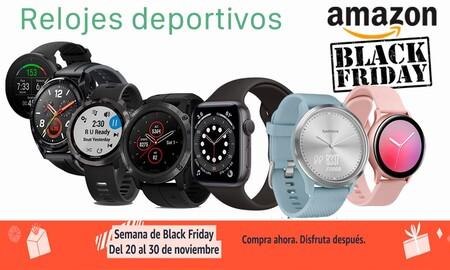 Las 23 mejores ofertas en relojes deportivos Samsung, Huawei y OPPO en el Black Friday de Amazon