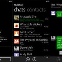 Telegram se actualiza en Windows Phone 8.1 y sale de la fase Beta