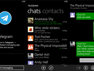 Telegram se actualiza en Windows Phone 8.1 y sale de la fase Beta
