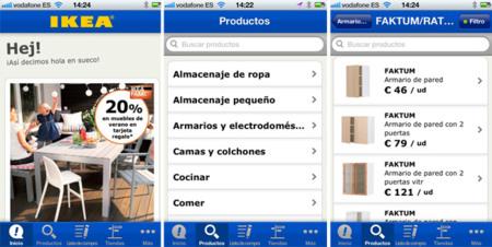 Nueva aplicación de Ikea