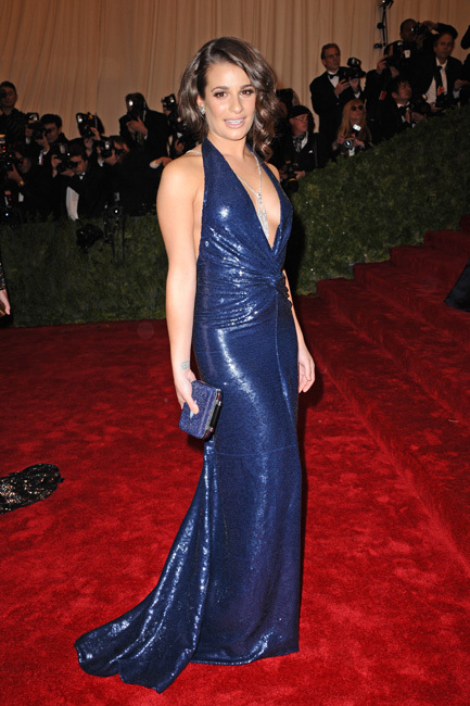 Lea Michele met 2012