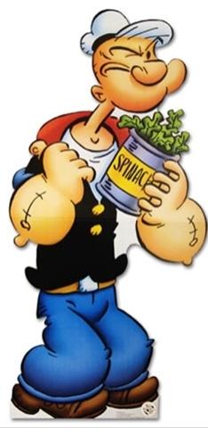 Espinacas como antioxidante