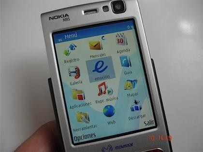 El N95 de Movistar, primeras fotos y datos