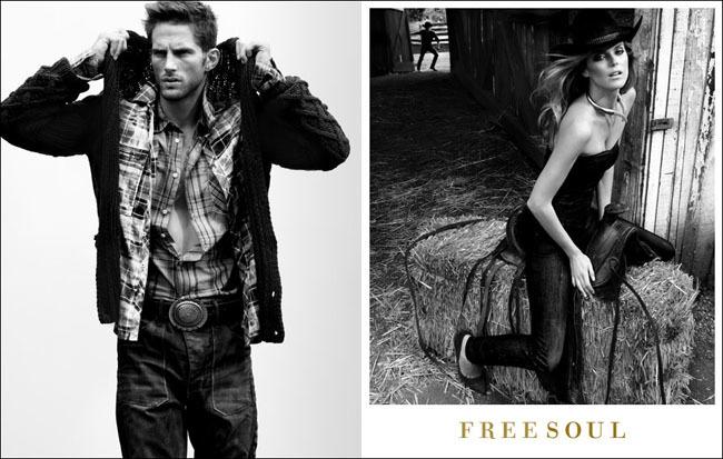 Foto de Campaña Freesoul Otoño–Invierno de 2011/2012: estilo vaquero (4/6)