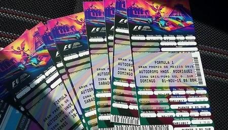 Boletos F1 2017