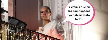 """Cristina Pedroche posa en Instagram con un vestido que nadie entiende: """"Parece que acabas de salir de mear y se te ha olvidado subirte la falda"""""""