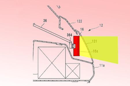 Honda Goldwing Radar Control Crucero Patente 2