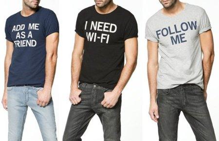 """""""Camisetas web"""" de Zara"""