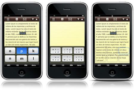 Tiki'Notes, un teclado virtual en pantalla con seis teclas